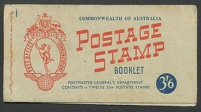 Australian 3'6 Postage Stamp Booklet - 12 Stamps in Total