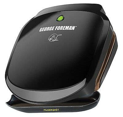 2016 GEORGE FOREMAN GRILL & PANINI PRESS ~ 2 Serving ~ MIB Sealed ~ @LOOK@