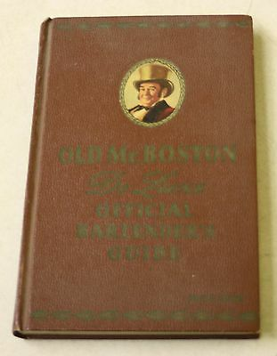 OLD MR. BOSTON, De Luxe Official Bartenders Guide Hardcover 1959 Vintage