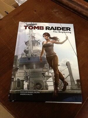 Tomb Raider The Beginning Hardcover 1St Print