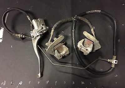 Yamaha Raptor 660 Front Brake Calipers All Years Master Cylinder Make Offer