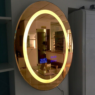 800*600*40 mm Electronic LED Smart Mirror with Bluetooth Radio Touch Screen