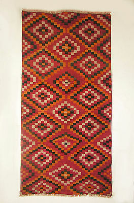 Large Navajo-Like Handwoven Nomadic Rug, 42 In. By 82 In.