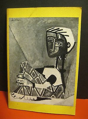 """1962 exhibition book """"Picasso: His Later Works 1938 - 1961"""" w/ great ART PHOTOS!"""