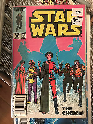 STAR WARS #90 NM 1st Pritn CANADIAN PRICE VARIANT Darth Vader Princess Leia