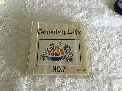Brother Machine Embroidery Card  #07 COUNTRY LIFE - .PES Format