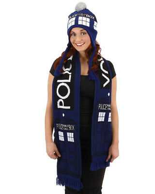 Doctor Who Tardis Scarf One Size