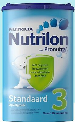4 X Nutrilon 3 standard (4x800 gram) -100% original Dutch Baby Powder Milk