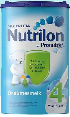 4 X Nutrilon 4 (4x800 gram) -100% original Dutch Baby Powder Milk