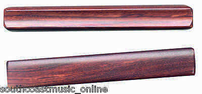 "Ed206 Claves 7.25"" Inch Rosewood Wooden Percussion"