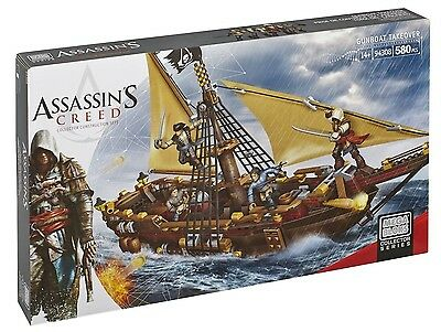 Mega Bloks Assassins Creed Gunboat NEW! - ON SALE!