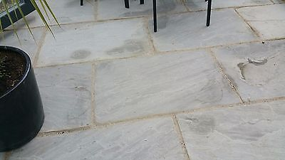 Silver - Kandla Grey indian Paving Flags - 2 Day Delivery Natural stone 900x600❗