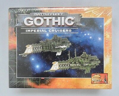 Warhammer Battlefleet Gothic BFG IMPERIAL CRUISERS x2 SEALED BOX