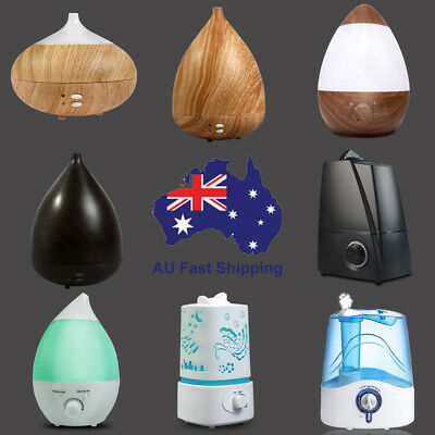 Air Humidifier Ultrasonic Cool Mist Steam Nebuliser Aroma Diffuser Purifier