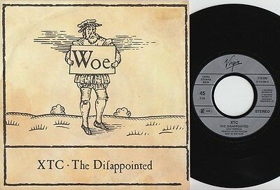 XTC * The Disapointed * 1992 German 45