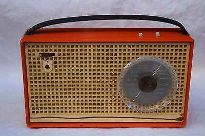 Philips Dorette 300 L3D00T/00 Radio Transistorradio Orange