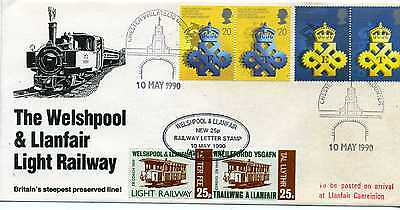 Great Britain Welshpool And Llanfair Light Railway  Cover