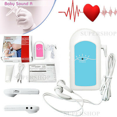 Baby Sound A Pocket Fetal Doppler hand held Fetal Heart Rate Pregnant women CE