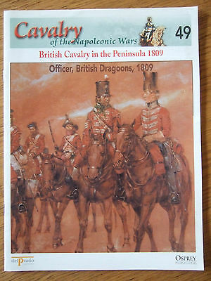 DEL PRADO- CAVALRY-NAPOLEONIC WARS -No49-BRITISH CAVALRY IN THE PENINSULA 1809