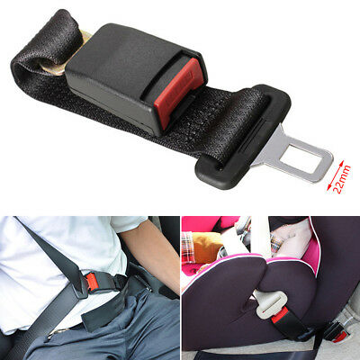 Adjustable 36cm Auto Car Seat Belt Extension Extender Safety Support Buckles
