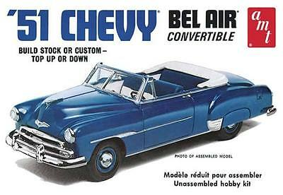 51' Chevy Convertible 1:25 Model Kit