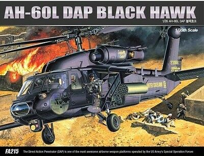 Academy AH-60L DAP Blackhawk 1/35 Model Kit