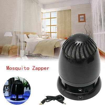 5W LED Electric Lamp Light Mosquito Zapper Killer Fly Insect Bug Trap Home Room