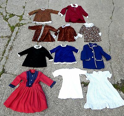Vintage Lot of 1970s 70s Childs Girls Clothing Clothes Retro Age 2 - 4