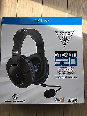 Turtle Beach Stealth 520 Wireless DTS 7.1 Surround Sound Gaming Headset - PS4