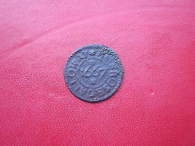 Ambrose Galloway Lewes In Sussex 1667 Farthing Token