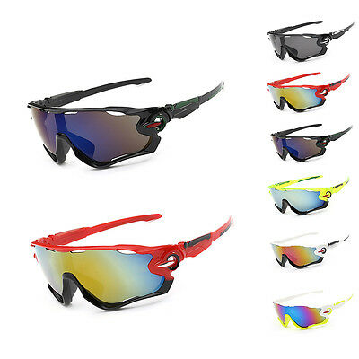 Outdoor Sport Sun Glasses Cycling Bicycle Men Riding Eyewear Goggle UV400 Lens