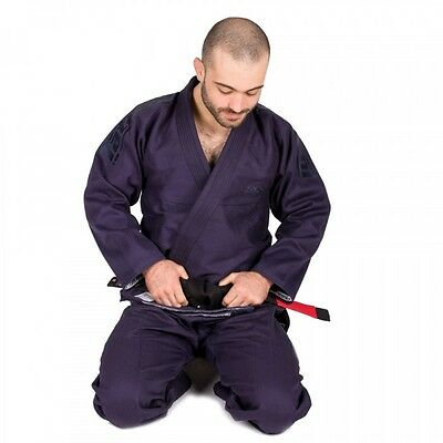 Tatami Estilo 5.0 BJJ Gi Navy Jiu Jitsu Suit Uniform Mens Adults