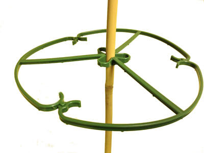 Yuzet 10 inch Plant / Flower Rings Garden Cane Support Frame Various Qtys