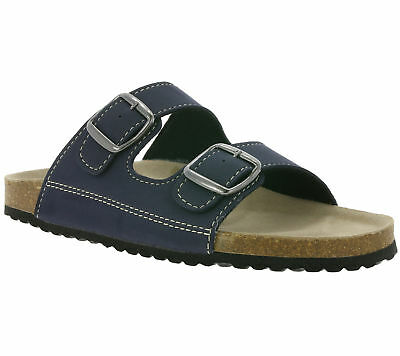 SUPERSOFT BOOTS SLIPPERS SLIPPER SLIPPERS Organic Mules Blue Sale