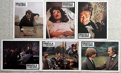 1976 DRACULA Jack Palance HORROR French Lobby Cards