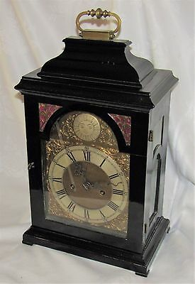 Top Quality Early English Double Fusee Bracket Clock