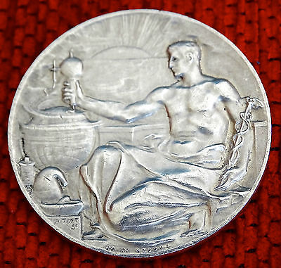 Silver Medal Cased Awarded To A J Linford.In Case. 1917.
