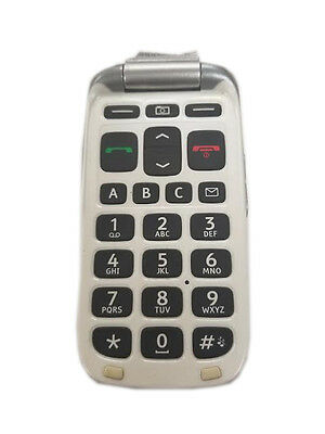 DORO PHONE EASY 618 Consumer Cellular Key Pad Side Button Back Power Up  Locked