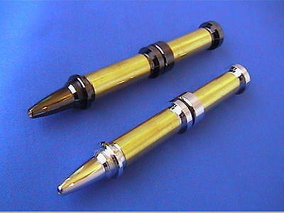 Woodturning Pen Kits - LIPSTICK - Chrome/Gold/Gun Metal  FREE POSTAGE