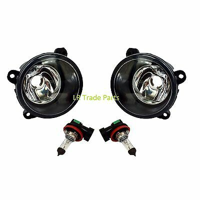 Land Rover Discovery 2 New Front Bumper Fog Lights Lamps X2 (2003-04) Light Set