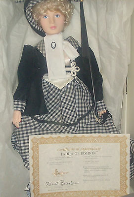 Vintage Effanbee Doll Ladies of Fashion Collection Age of Elegance Eugenia Dukas
