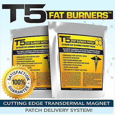 T5 Fat Burners Patches -Strongest Detox Slimming / Diet / Weight Loss Pills Alt