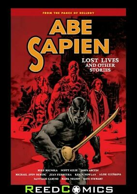 ABE SAPIEN VOLUME 9 LOST LIVES AND OTHER STORIES GRAPHIC NOVEL (144 Pages)
