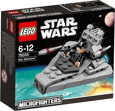 Lego 75033 Star Wars Microfighters Star Destroyer - Brand New Sealed Boxed