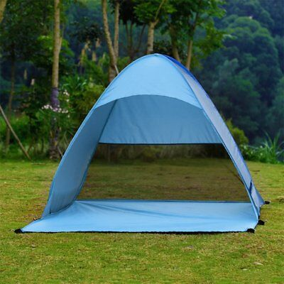 Outdoor 2-3 Persons Quick Automatic Pop up Instant Portable Cabana Beach Tent SL