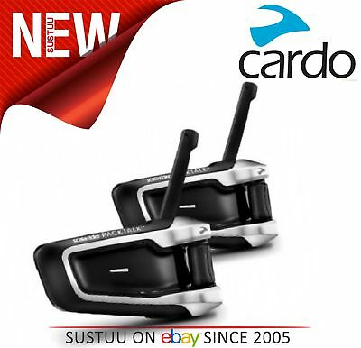 Cardo Scala Rider PackTalk│Duo MotorCycle Handsfree│2xBluetooth-Intercom-Headset