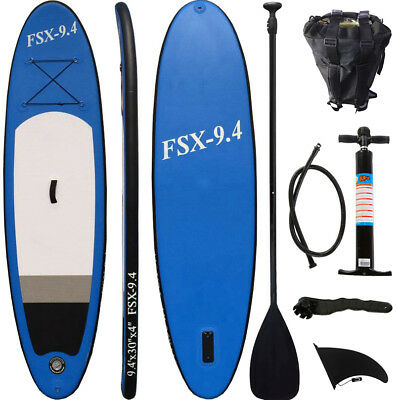 SUP Board Stand Up Paddle Surf-Board aufblasbar inkl. Paddel ISUP Paddling 285cm