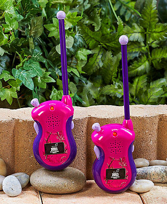 Girl's Set Of 2 Realtree Walkie Talkies 60 Feet Range Indoor Outdoor Pink Camo