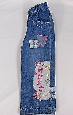 Baby girl NUFC jeans denim Newcastle United 18-24 months