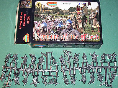 Strelets Normans on the March 1/72